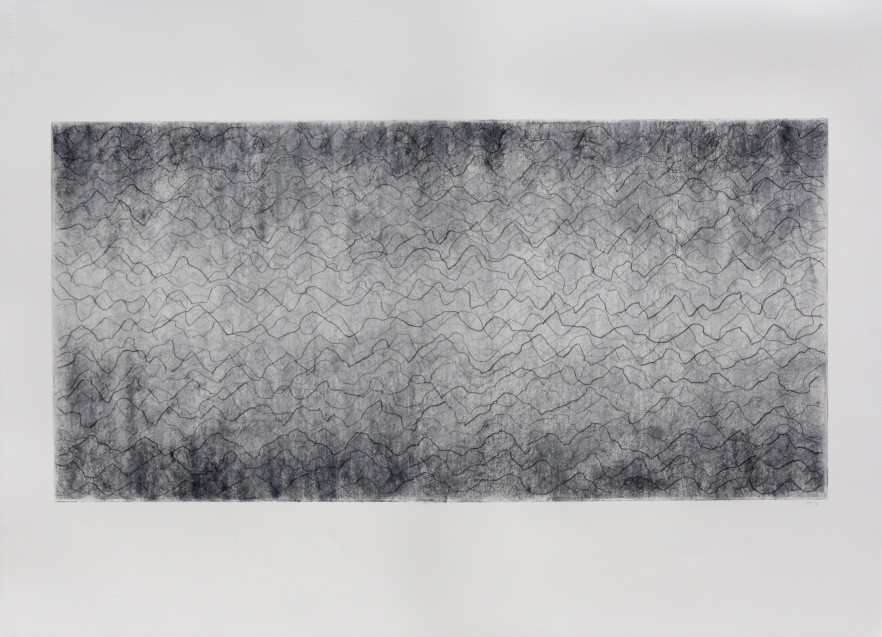 Robinson_Fiona.John Cage In a landscape 1948 N.2.Graphite and charcoal 56x76cm.