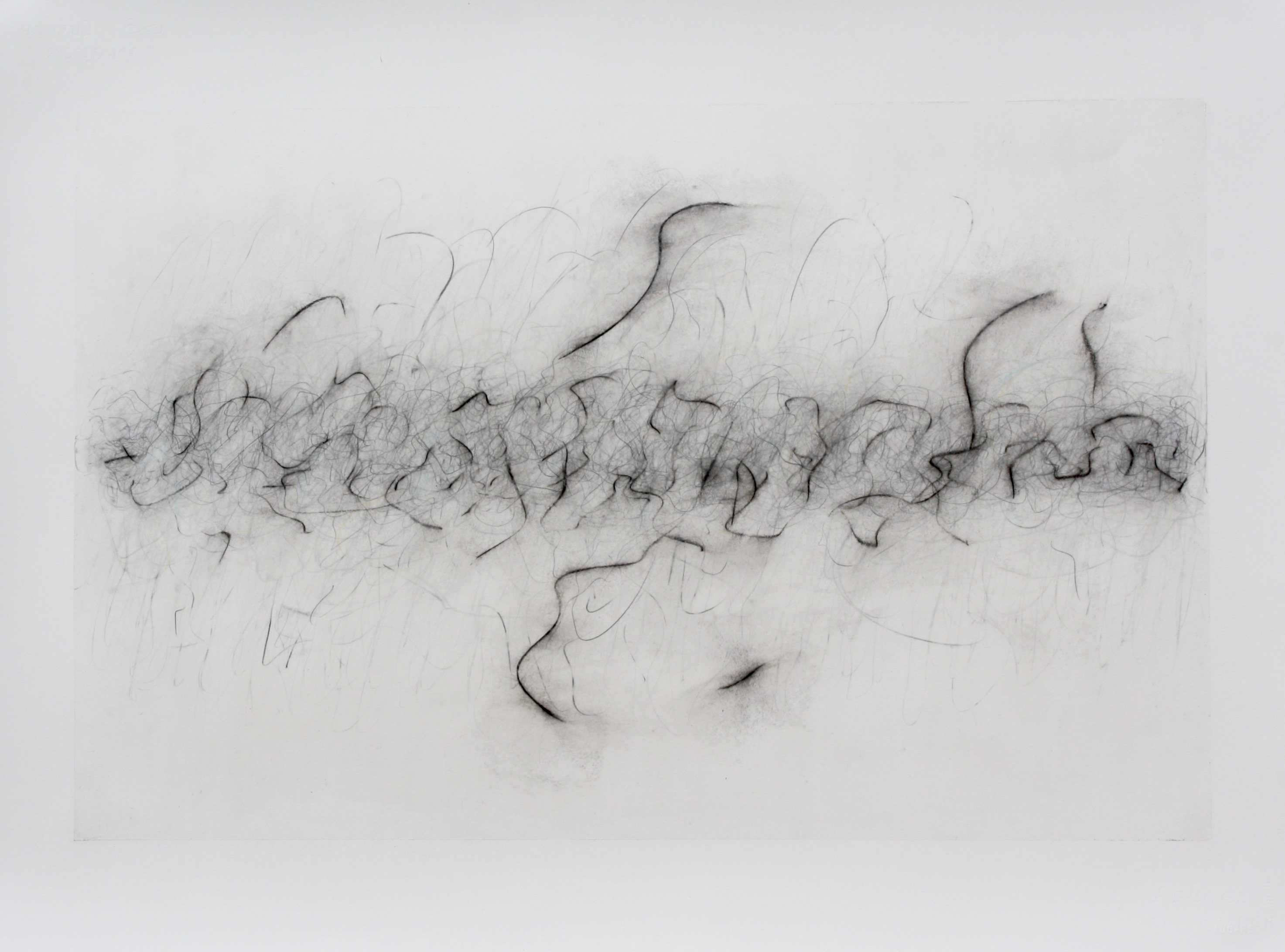 Robinson_Fiona Debussy String Quartet 3rd Movement. Graphite charcoal and mixed media 76 x 56cms