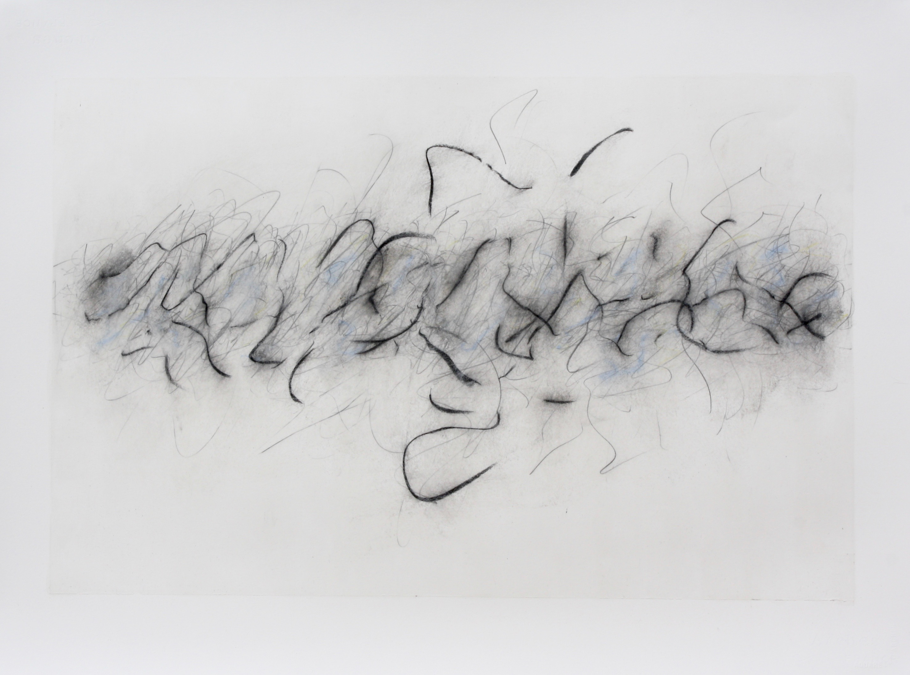 Robinson_Fiona Debussy String Quartet 4th Movement. Graphite charcoal and mixed media 76 x 56cms
